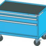 Dílenský vozík: Konec rozházeného nářadí