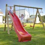 Stylové a bezpečné dětské hřiště svépomocí nevyrobíte